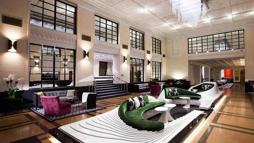 Lobby Hotel Stewart NYC