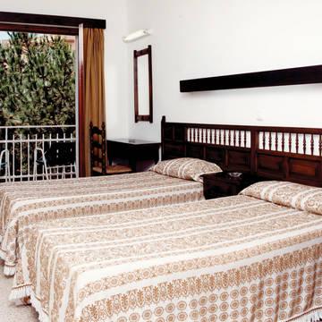 Voorbeeld slaapkamer Hotel Clipper