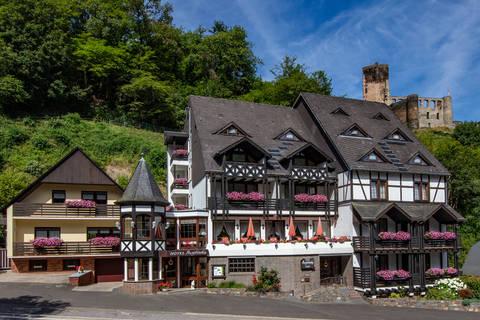 Goedkope autovakantie Rheinland Pfalz 🚗️Hotel Burgfrieden