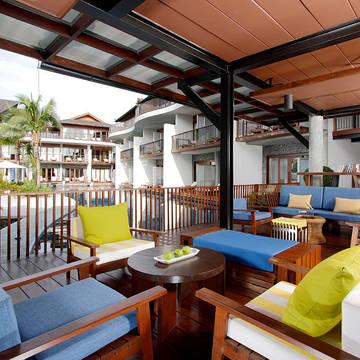 Resort center Holiday Inn Resort Krabi Ao Nang Beach