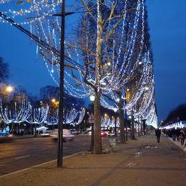 Kerstmarkt Parijs