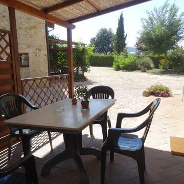 Terras Appartementen Borgo Il Villino