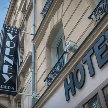 Voorzijde Hotel Volney Opéra