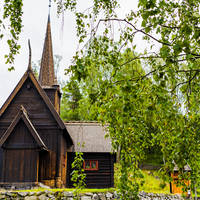Lillehammer Openluchtmuseum Maihaugen - Foto: Ian Brodie