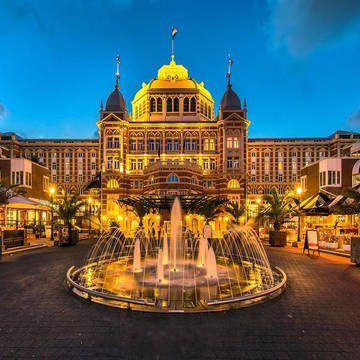 Avondopname Grand Hotel Amrâth Kurhaus