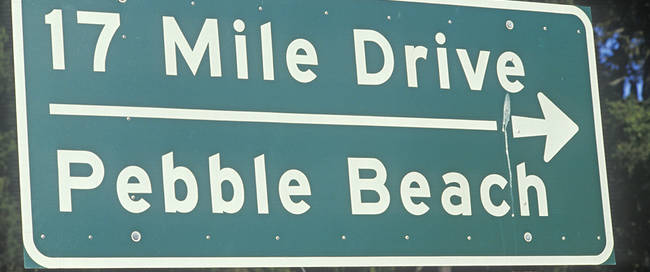 17 mile drive in San Luis Obispo