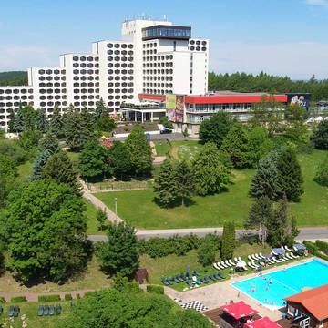 Vooraanzicht AHORN Berghotel Friedrichroda