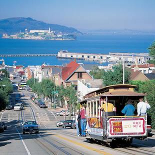 San Francisco met Alcatraz