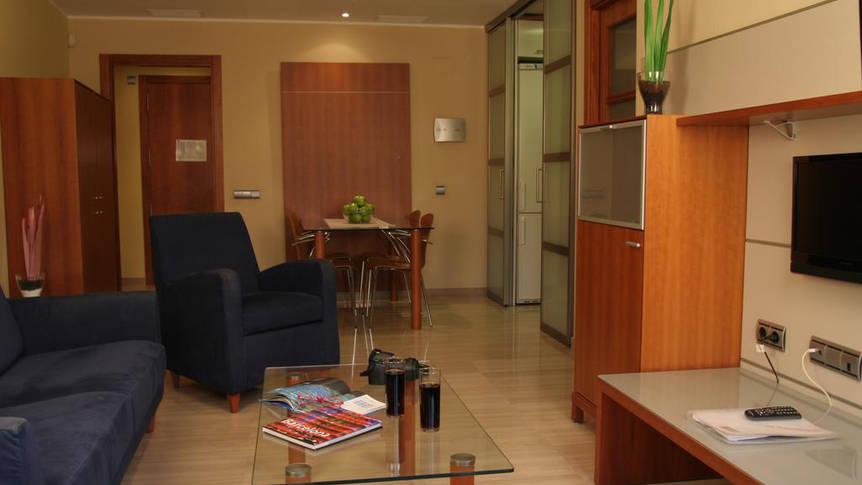 Woonkamer Appartementen Arago565