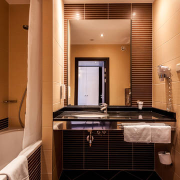 Badkamer Hotel Qubus Krakow