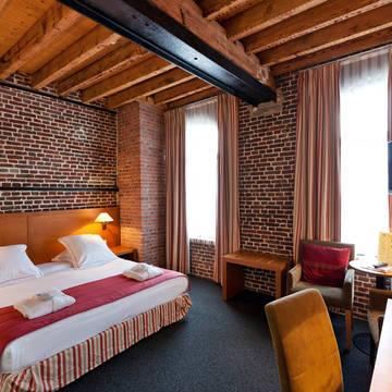 Voorbeeld slaapkamer Ghent River Hotel