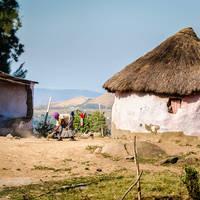 Huis op het platteland, Kwazulu Natal provinvie