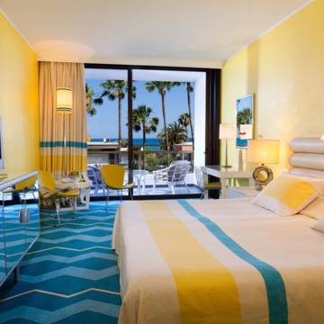 Voorbeeld kamer Hotel Seaside Palm Beach