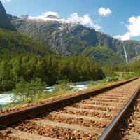 Oslo - Trondheim, per trein