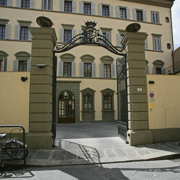 Entree appartementencomplex Palazzo dei Ciompi