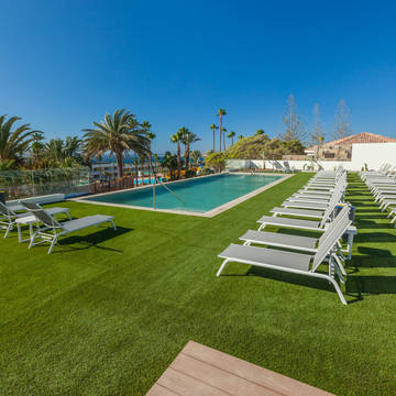 zonneterras Hotel Abora Interclub Atlantic by Lopesan Hotels
