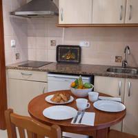 Woonkamer en keuken voorbeeld