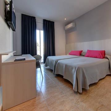 Voorbeeld kamer Hotel en appartementen Solimar