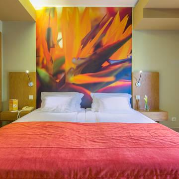 Voorbeeldkamer Bergzicht Hotel Four View Oasis