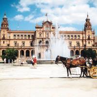 Sevilla met paardenkoets