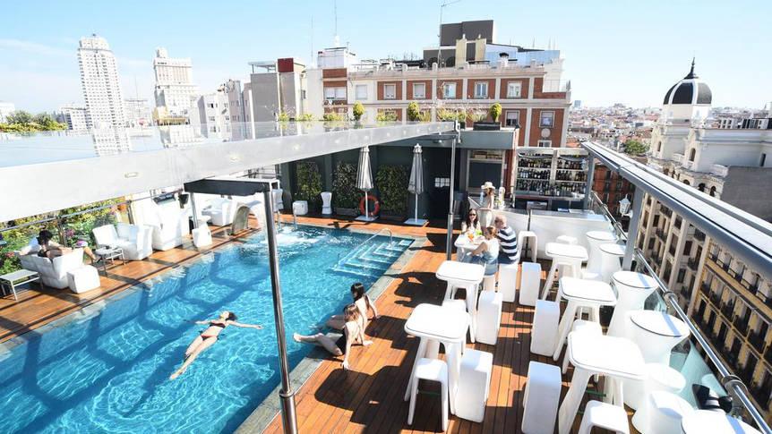 Zwembad Hotel Santo Domingo