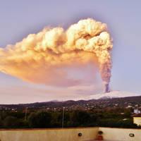 Uitbarsting vulkaan Etna