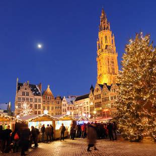 Antwerpen kerstmarkt