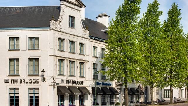 Buitenaanzicht Hotel NH Brugge