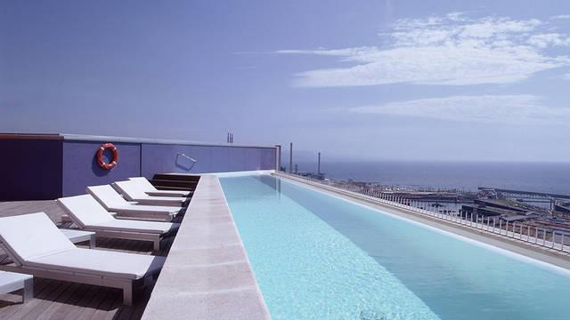 Zwembad Hotel Barcelona Princess