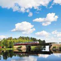 9 daagse rondreis per trein Zweden, Lapland de Lofoten