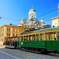 Historische tram - Foto: Niclas Sjöblom