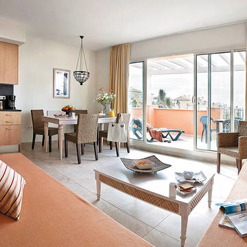 Voorbeeld woonkamer Pierre et Vacances Resort Terrazas Costa del Sol