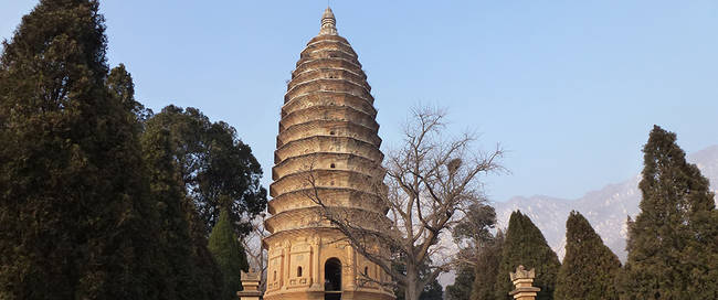 Songyue tempel Pagode