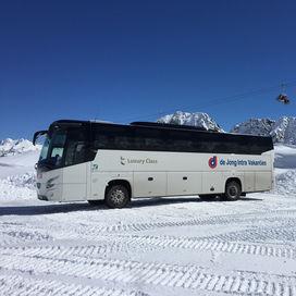 Wintersport pendelbus