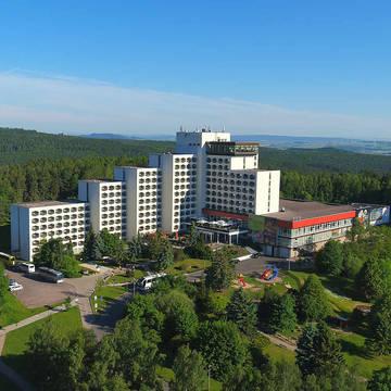 Bovenaanzicht AHORN Berghotel Friedrichroda