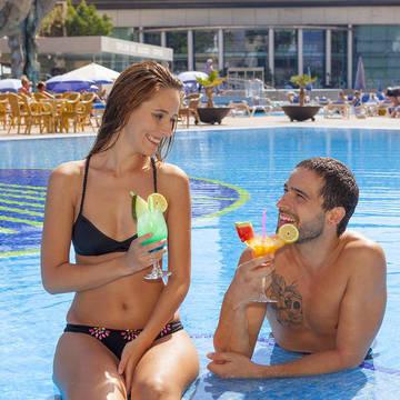 Zwembad, Gran Hotel Bali Gran Hotel Bali