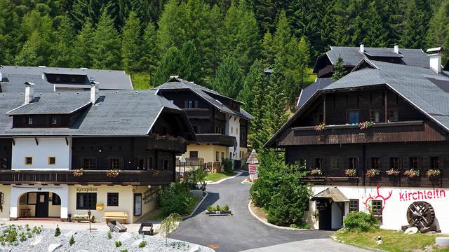 Buitenaanzicht Vakantiepark Kirchleitn Dorf Grosswild
