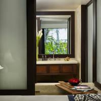 Voorbeeldkamer Premium Garden View - badkamer