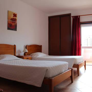 Voorbeeld slaapkamer Appartementen Castelos Da Rocha
