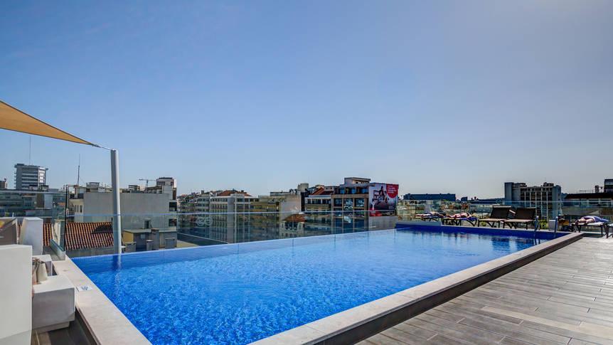 Zwembad Hotel Jupiter Lisboa
