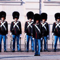 Kopenhagen - Guards Amalienborg