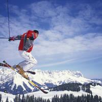 Skier Wilder Kaiser