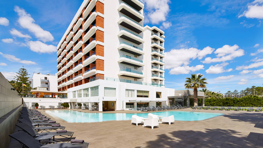 Exterieur Hotel Alcazar beach & spa