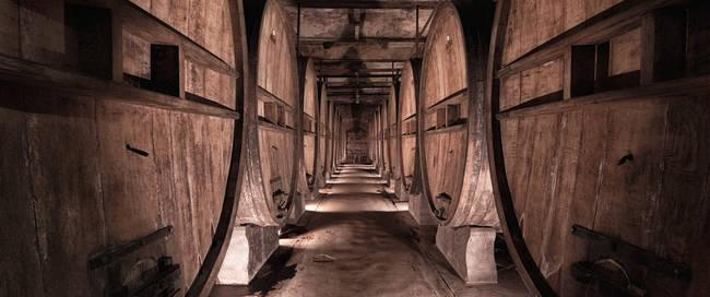 wijnkelder Villa Casagrande
