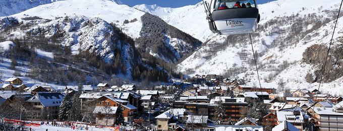Wintersport Valloire