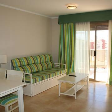 Voorbeeld kamer Appartementen Esmeralda Suites