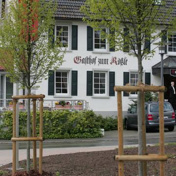 Buiten aanzicht Hotel Gasthof Zum Rössle