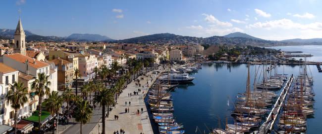 Zuid-Franse kust bij Toulon