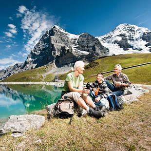 Jungfrau Eiger Walk Fallbodensee met Jungfraugbahn