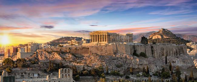 Athene - Parthenon tempel